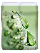 Nature's Teardrops Duvet Cover