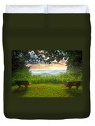 Nature's Theater Duvet Cover
