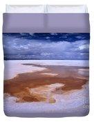 Natures Watercolours On The Salar De Uyuni Duvet Cover