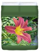 Natures Way Of Blending Color Duvet Cover