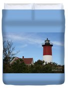 Nauset Beach Light Duvet Cover