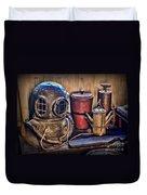 Nautical - Antique Dive Helmet Duvet Cover