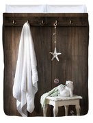 Nautical Bathroom Duvet Cover