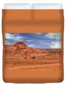 Navajo Nation Series Along Arizona Highways Duvet Cover