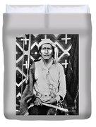 Navajo Shaman, C1880 Duvet Cover