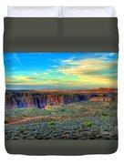 Navajo Sunset Duvet Cover