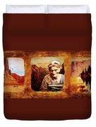Navajo Triptych  Duvet Cover