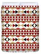 Navajo White Pattern Duvet Cover