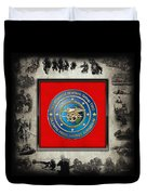 Naval Special Warfare Group Two - N S W G-2 - Over Navy S E A Ls Collage Duvet Cover