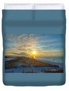 Navarre Beach Sunrise 2014 09 26 01 C 0650 Duvet Cover