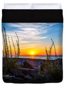 Navarre Fl Sunset 2014 07 29 A Duvet Cover