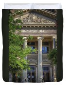 Navarro County Courthouse Duvet Cover