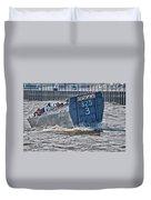 Navy Landing Craft 325 Duvet Cover