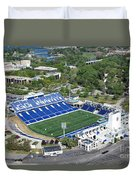 Navy Marine Corps Memorial Stadium Duvet Cover