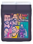 Nba Nuthin' But Africans Duvet Cover