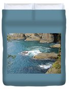 Neah Bay At Cape Flattery Duvet Cover