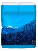 Near Fernie British Columbia  Duvet Cover