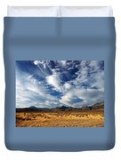 Near The Intersection Of God And The Eastern Sierras Duvet Cover