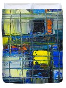 Near The Sunrise - Abstract Original Painting - Abwgc1 Duvet Cover