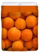 Nectarines Duvet Cover