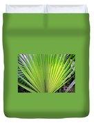 Needle Palm Duvet Cover