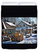 Neighbourhood Snowplough 2 Duvet Cover