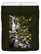Nelson Falls Tasmania Duvet Cover