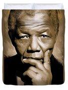Nelson Mandela Artwork Duvet Cover
