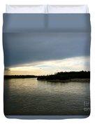 Nenana River Duvet Cover