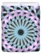 Neo Liquid Sky K1 Duvet Cover by Derek Gedney