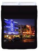 Neon Art Deco Duvet Cover