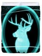 Neon Buck Duvet Cover