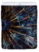 Neon Dandelion Duvet Cover