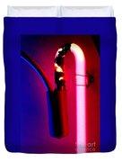 Neon Glow Duvet Cover