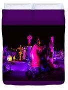 Neon Landscape Duvet Cover