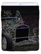 Neon Roadster Duvet Cover