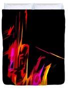 Neon Sax Duvet Cover