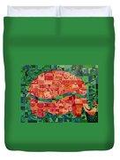 Nepalese Elephant Duvet Cover