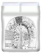 Nerve Cells, 1894 Duvet Cover