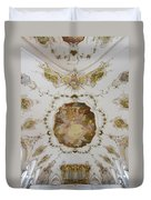 Nesselwang Church Ceiling And Organ Duvet Cover