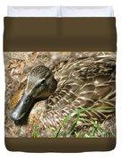 Nesting Mallard Duvet Cover