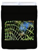 Netting - Abstract Duvet Cover by Kaye Menner