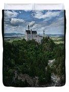 Neuschwanstein Duvet Cover
