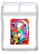 Neutron Dance Duvet Cover