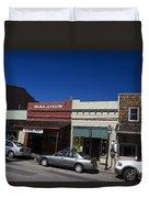 Nevada City California Duvet Cover