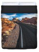 Nevada Highways Duvet Cover