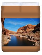 Never Ending Waterways Duvet Cover