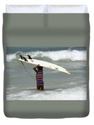 Never Too Little Never Too Big To Surf Duvet Cover