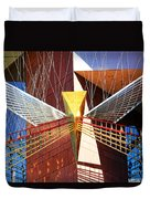 New Age Performing Arts Center Duvet Cover