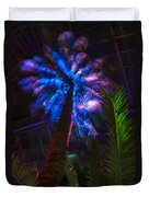 New Age Tropical Palm Duvet Cover
